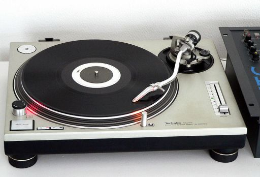The Technics SL-1200 turntable