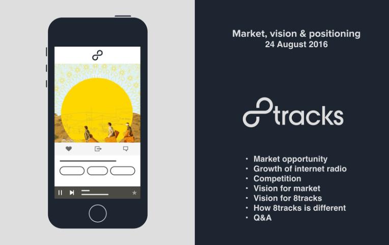 Market, Vision & Positioning - 8tracks Investor Webinar 2