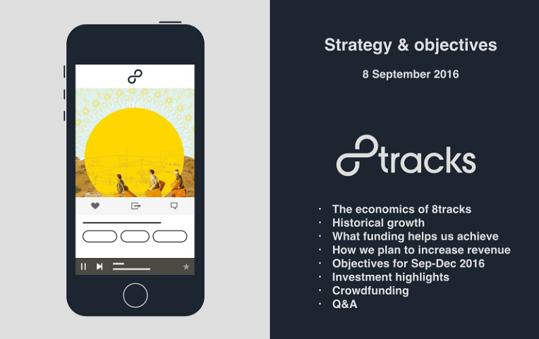 Strategy & objectives - 8tracks investor webinar 3